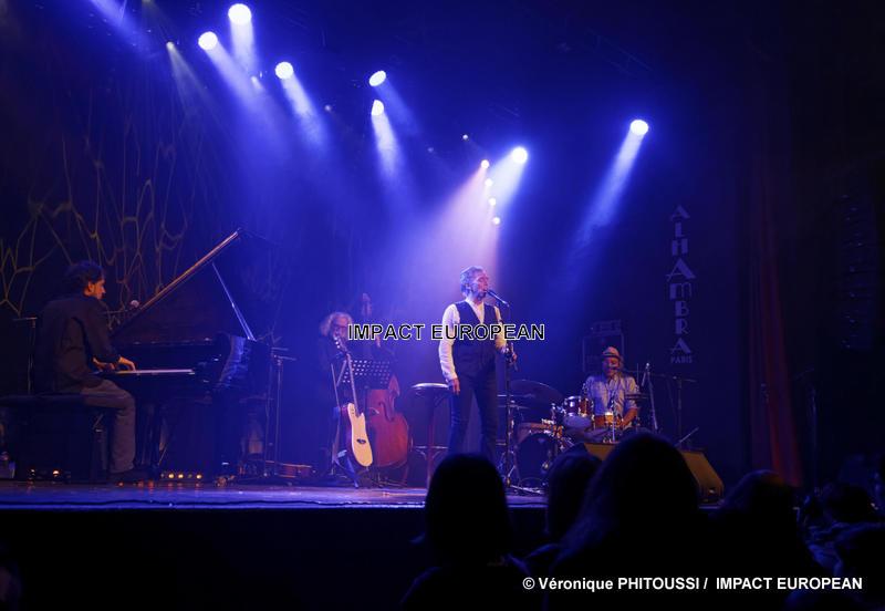 Jairo présente «Jazziro» en concert à l'Alhambra