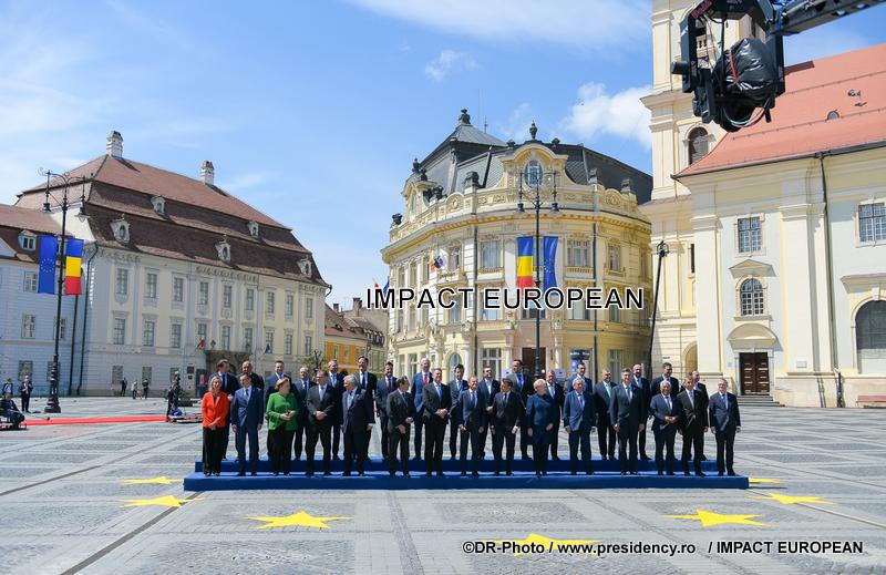 Sommet européen: l'Europe réfléchit à son avenir pour poser des bases sur les 27 pays