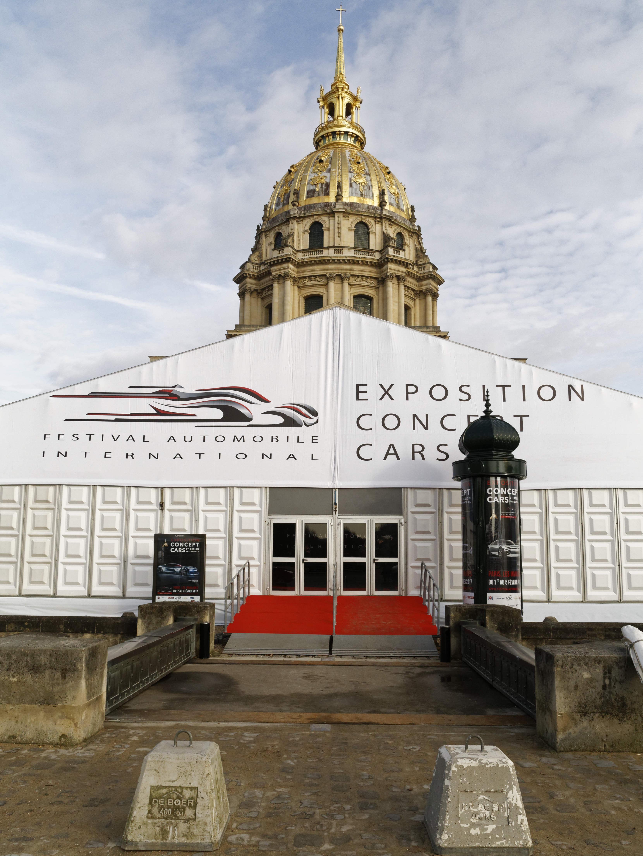 Concept Cars et Design Automobile aux Invalides à Paris