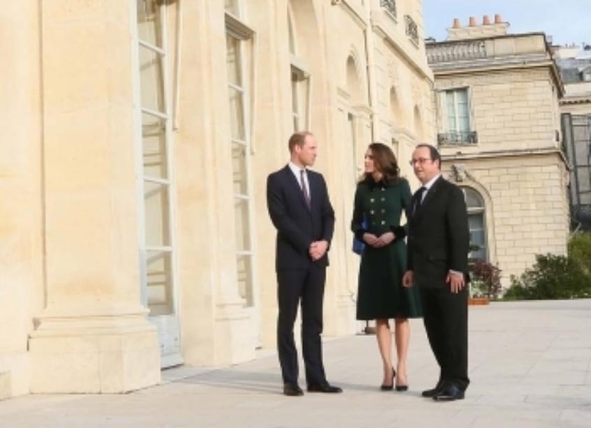 Première visite officielle à Paris du couple princier britannique