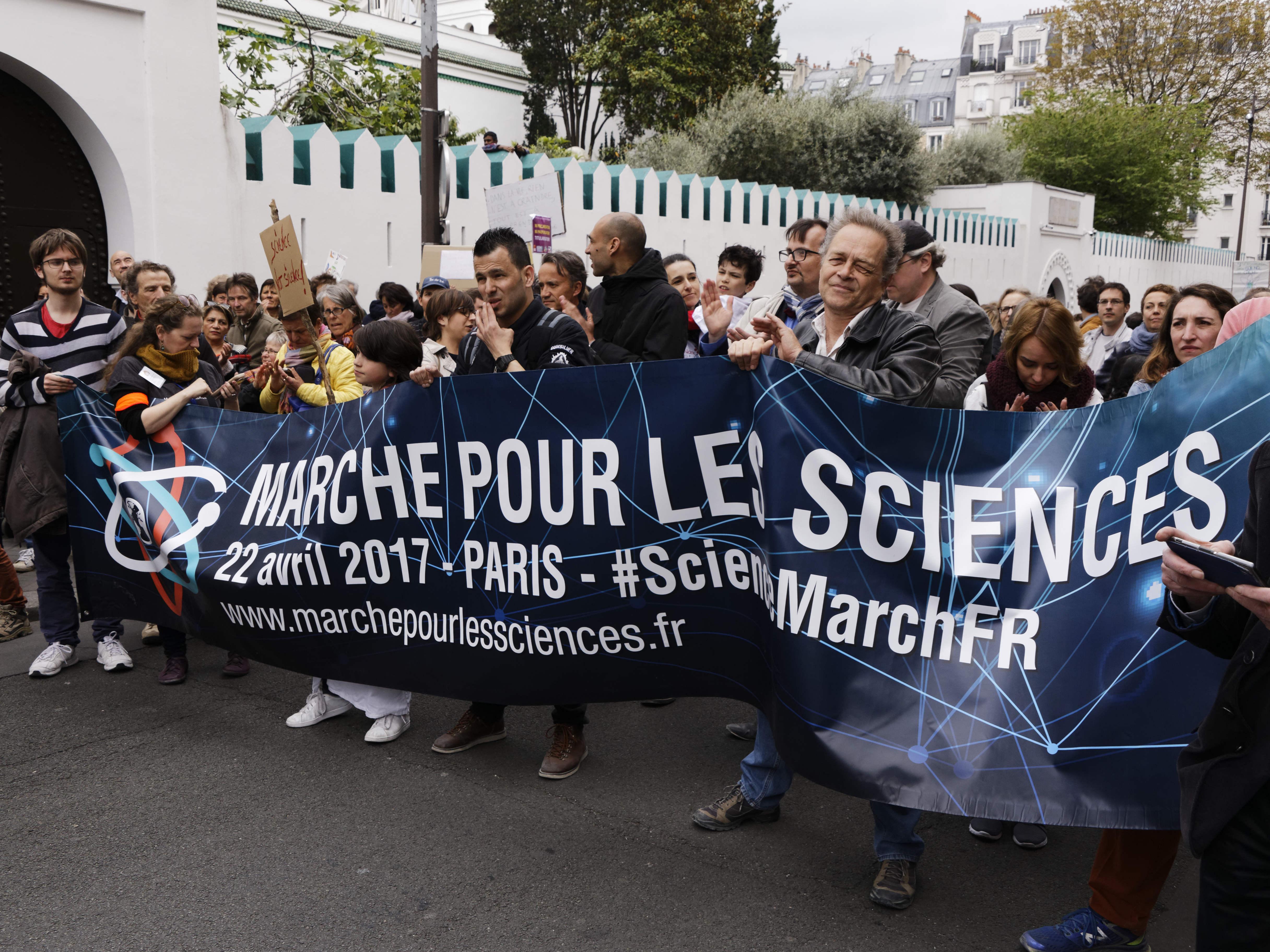 Marche pour les sciences et contre le septicisme face aux changements climatiques
