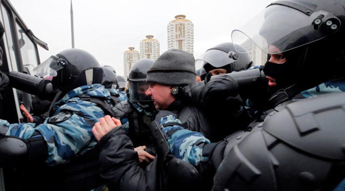 Russie: environ 70 personnes interpellées samedi à Moscou