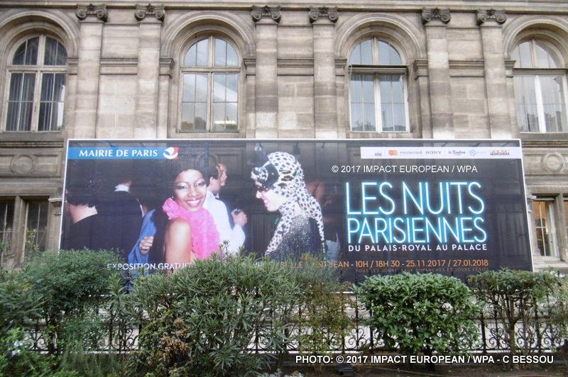 les nuits parisiennes exposition gratuite l h tel de ville de paris jusqu au 27 janvier 2018. Black Bedroom Furniture Sets. Home Design Ideas