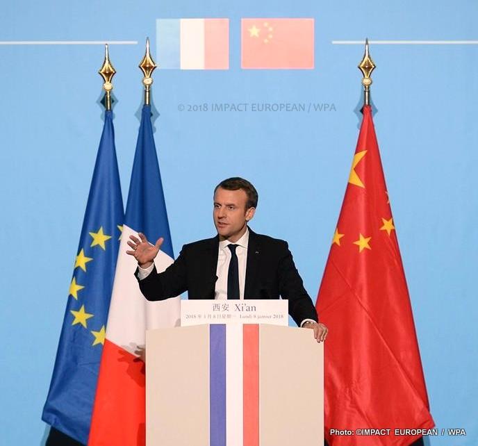 Emmanuel Macron, en visite d'Etat en Chine pendant trois jours