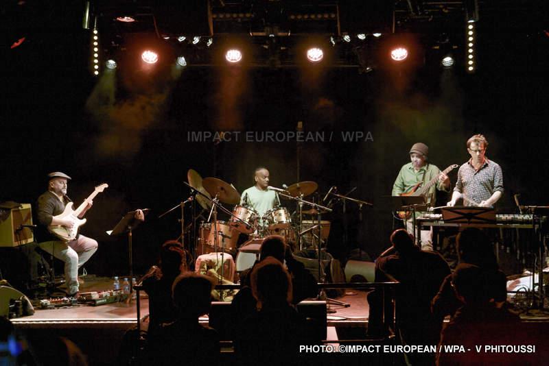 Ravy Magnifique Trio s'est produit en concert avec Franck Tortiller au Plan à Ris-Orangis en Essonne le 16 février 2018