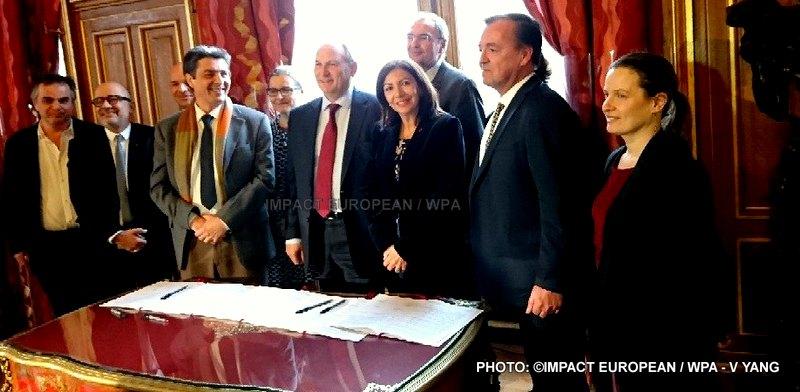 La ville de Paris a signé un partenariat avec Enedis, Airparif, la Fondation dusouffle et PlanetWatch 24