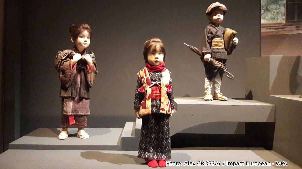 ATAE YÛKI, scènes de la vie japonaise en sculptures de tissu