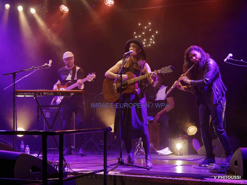 Solveig s'est produite en Concert au Plan