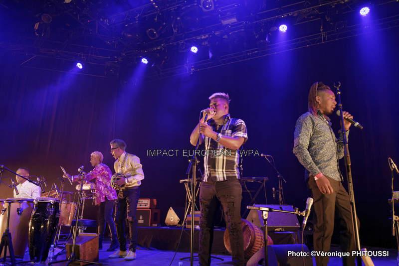 Los Muñequitos de Matanzas se sont produits en concert au Plan le 17 mars 2018