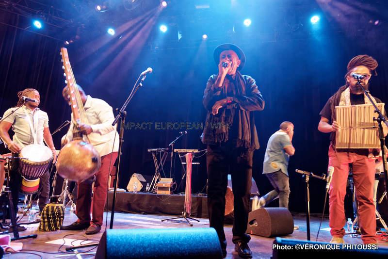 Gramoun Sello s'est produit en concert au Plan dans le cadre de la Soirée La Kazanou