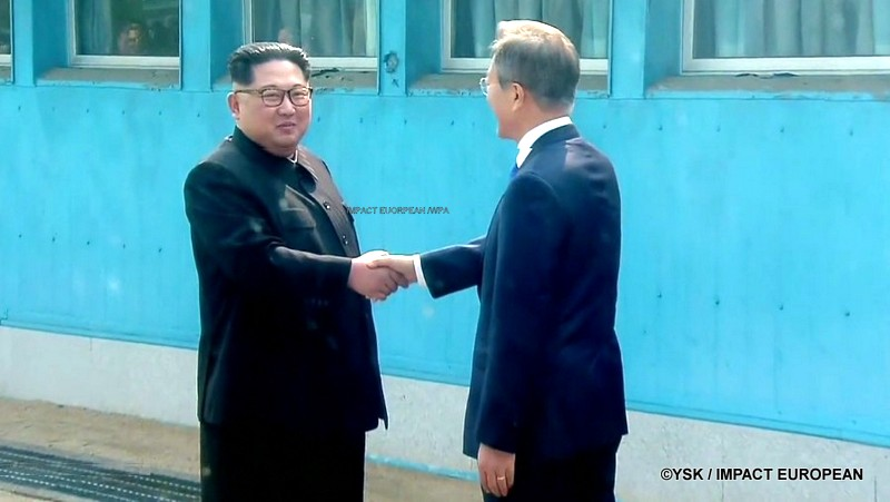 Les deux Corées s'engagent pour la paix sans nucléaire
