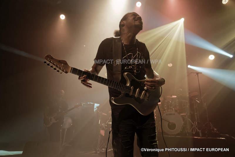 Eric Gales s'est produit en concert au Plan en Essonne