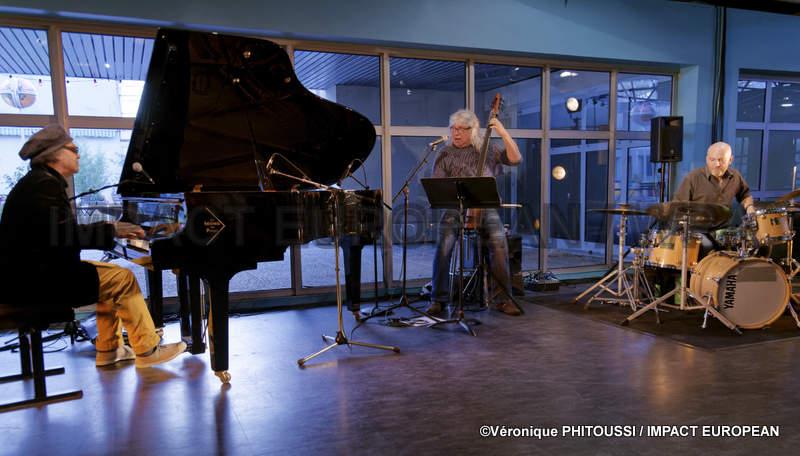 Ronnie Lynn Patterson Trio, s'est produit en concert au Théâtre de l'Agora à Evry, Hommage à Keith Jarrett, Laccaravane Au Sud du Nord