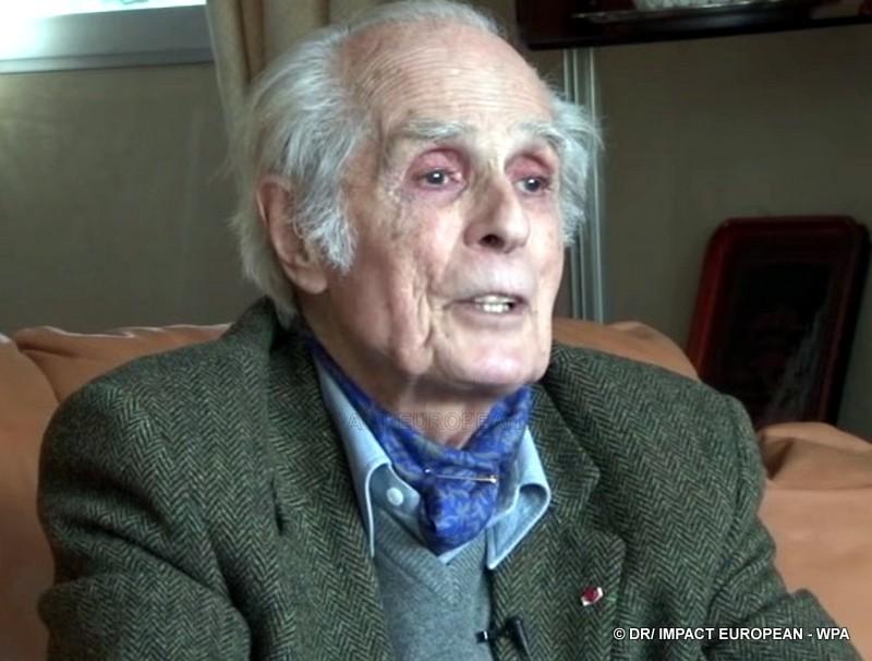 Le compagnon de la Libération Claude Raoul-Duval est mort à 98 ans