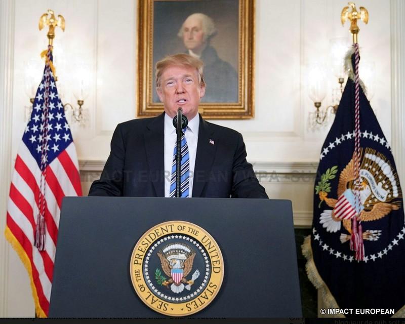 Les Etats-Unis se retirent de l'accord sur le nucléaire iranien et approchent la Corée du Nord, mais défient ses alliés en Europe