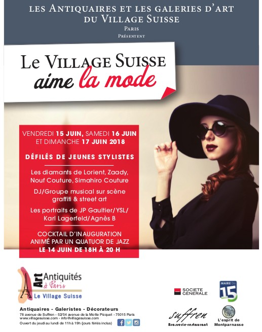 Le Village Suisse se met en mode défilés