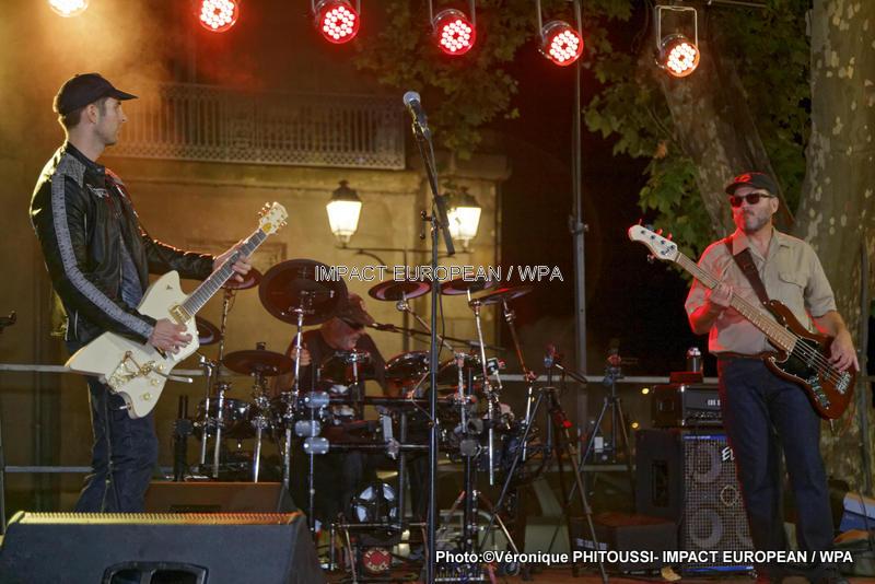 La Nuit de la guitare avec le groupe French Sauce à Agde