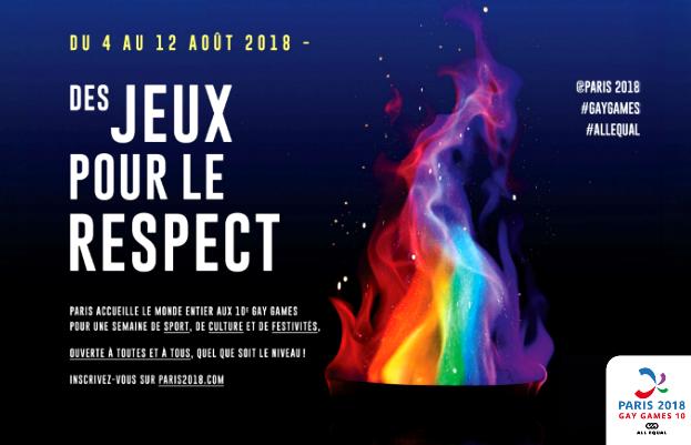 Ouverture de la 10ème édition des Gay Games le 1er août à Paris