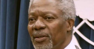 Décès du Prix Nobel de la Paix, Kofi Annan