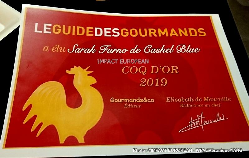 13 nouveaux Coqs d'Or dans la cour du Guide des Gourmands 2019