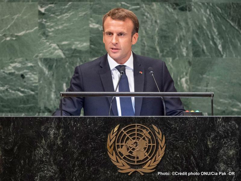 ONU: Macron n'est plus d'accord avec le président  d'Etats-Unis