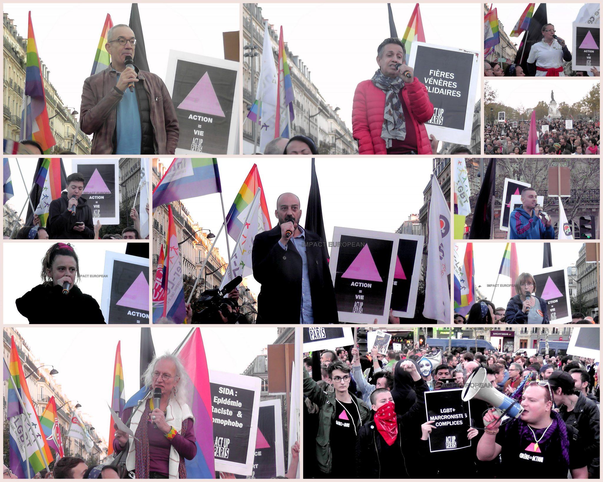 PARIS: Un grand rassemblement contre les violences homophobes s'est déroulé ce dimanche place de la République