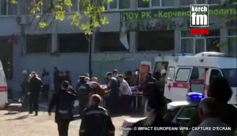 Crimée: Carnage dans une collège au moins 17 morts par balles et plus de 40 blessées