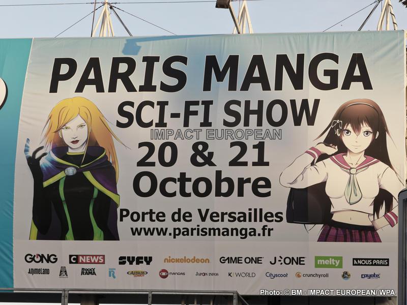 Geeks et Otakus réunis au Paris Manga – Sci-Fi
