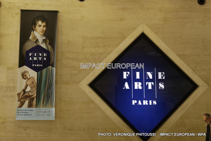 Fine Arts Paris, le Salon du Dessin, de la Peinture et de la Sculpture au Carrousel du Louvre