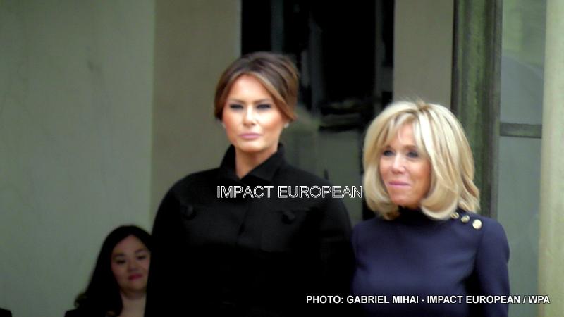 Melania Trump s'est rendue à l'Élysée et le soir au Musée d'Orsay avec plusieurs autres dignitaires pour le centenaire de l'armistice de la Grande Guerre