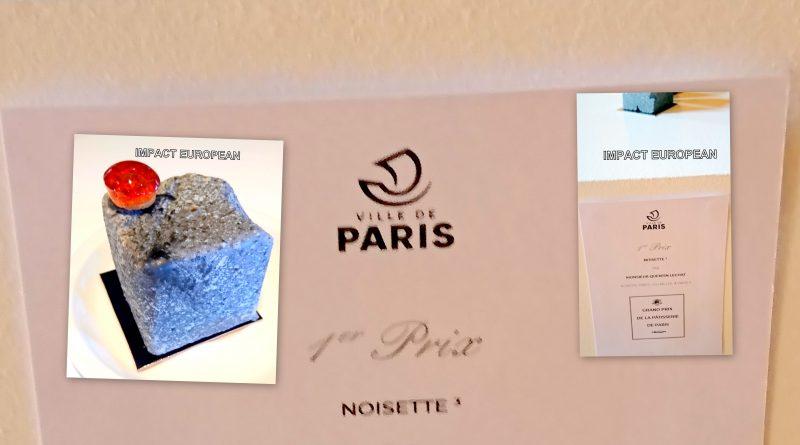 """La""""Noisette"""" de Quentin Lechat lauréate du premier Grand Prix de la Pâtisserie de Paris"""