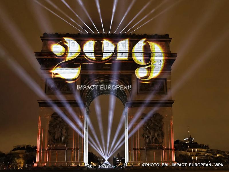 La Fraternité au programme des festivités du Nouvel An sur les Champs Elysées