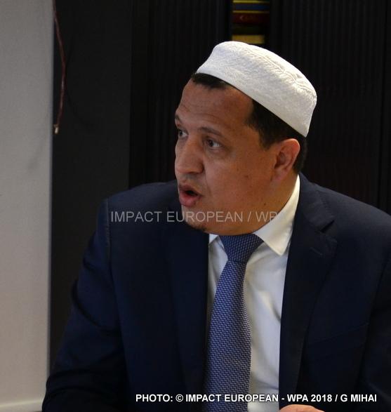 L'Imam de Drancy, Hassan Chalghoumi part en Israel pour un voyage de Paix