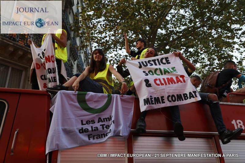 Un samedi de mobilisation en France: climat, gilets jaunes et des retraites en colère