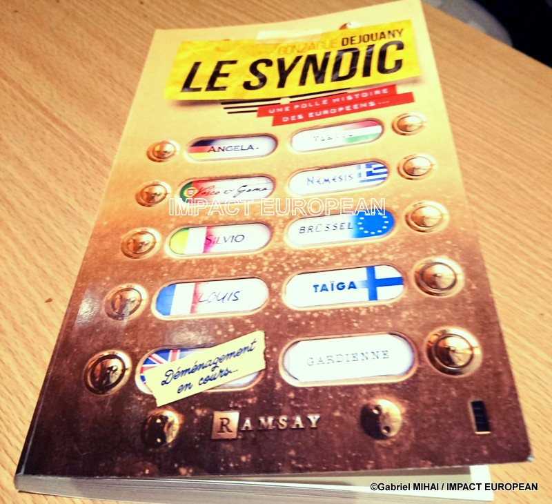 LE SYNDIC: une satire sur le fonctionnement actuel de l'immeuble des 28 pays  de l'Union Européenne