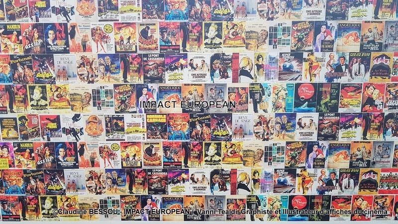 Exposition : Vanni Tealdi, Graphiste et Illustrateur d'affiches pour le cinéma
