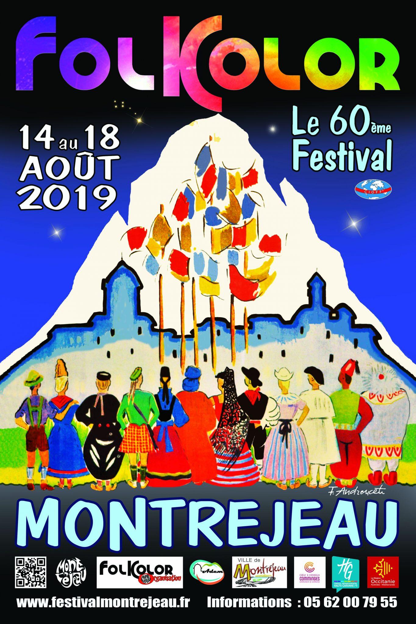 Les danses folkloriques du monde au Festival de Montréjeau