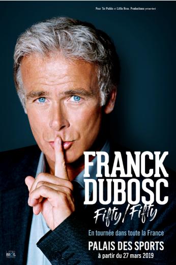 Franck Dubosc, quinqua et heureux de l'être !