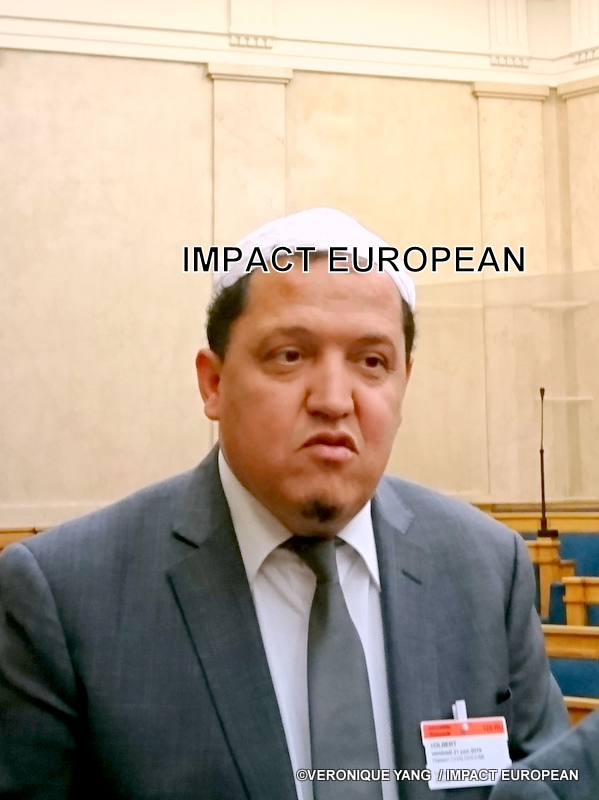 L'Iman Hassen Chalghoumi présent à l'Assemblée Nationale pour un colloque sur le regain des tensions dans le Golfe Arabo-Persique