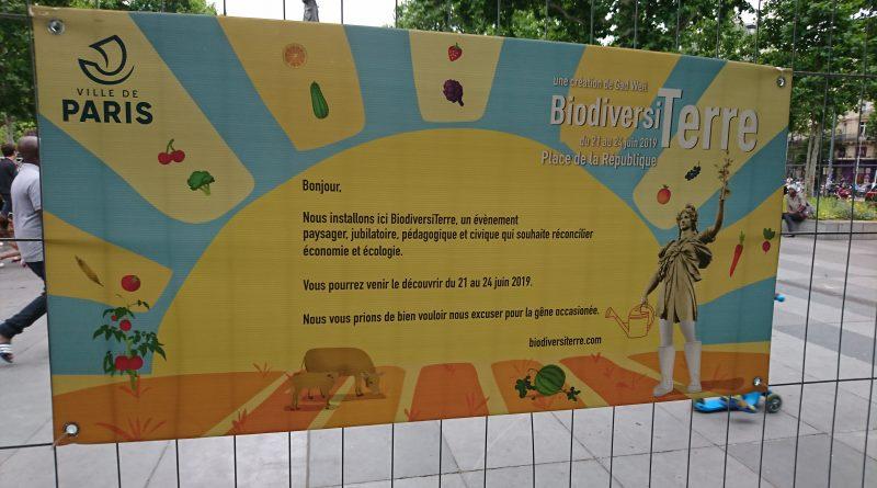 La biodiversité à l'honneur à Paris pendant le week-end