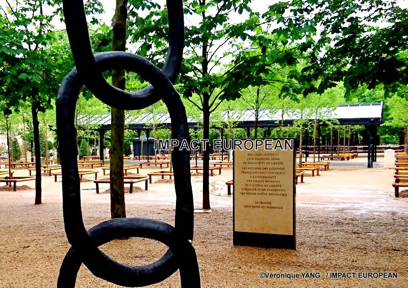 L'abolition de l'esclavage  commémoré par le Président Macron et la ville de Paris