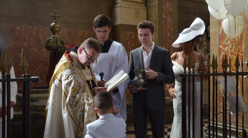 Marcel Campion a baptisé son petit fils Marcel
