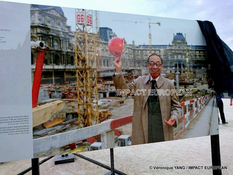 Décès de l'architecte Ieoh Ming Pei, concepteur de la Pyramide du Louvre