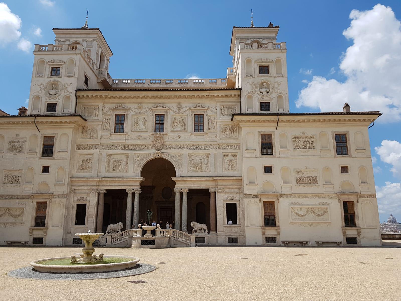 La Villa Médicis, siège de l'Académie de France à Rome