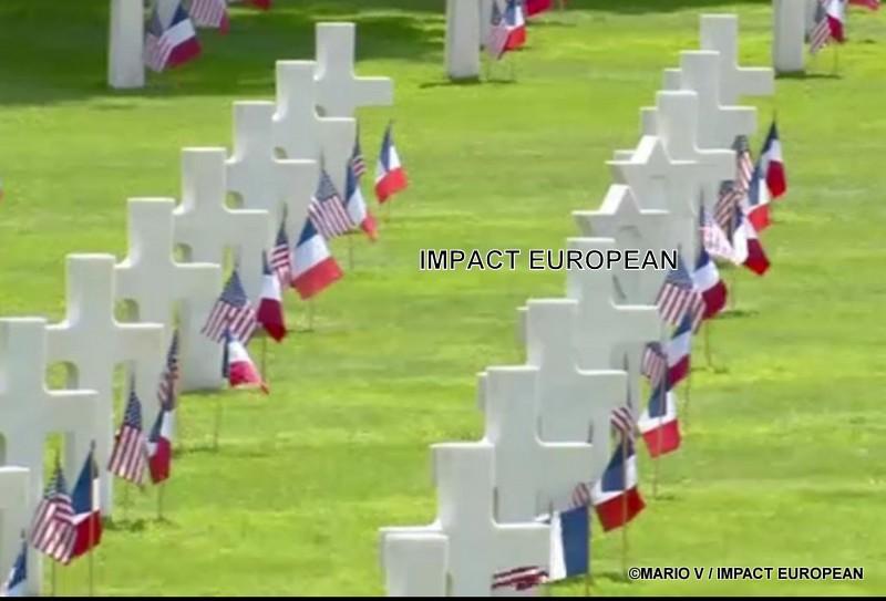 Commémoration du 75ème anniversaire du débarquement en Normandie