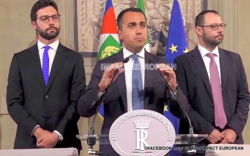 """Italie: """"Un accord trouvé"""" pour les 5 Etoiles et le Parti démocrate de former un nouveau gouvernement sans la Ligue"""