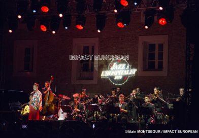 Gérard Bertrand a accueilli Lisa Simone au Festival de Jazz de l'Hospitalet