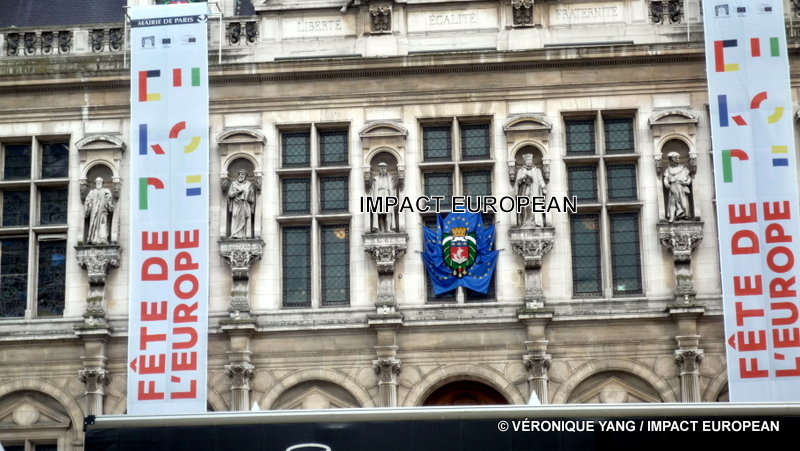 Paris célèbre la Fête de l'Europe à quelques jours de la Journée de l'Europe