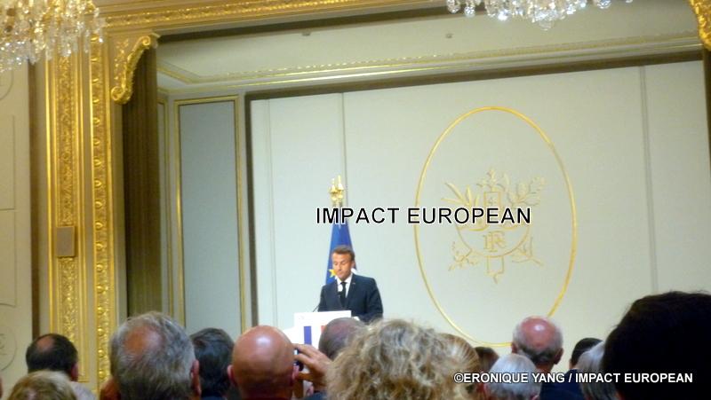 Discours d'Emmanuel Macron et colloque pour le 50ème anniversaire de l'élection de Georges Pompidou