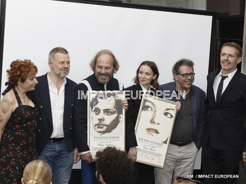 Prix Romy Schneider et Patrick Dewaere 2019